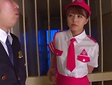 Ravishing cosplay beauty Akiho Yoshizawa gives a kinky head picture 15