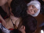 Kitagawa Eria getting slayed in a threesome