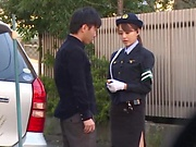 Japanese lady Akiho Yoshizawa gives sensational blowjob