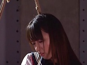 Pretty Misaki Kanna delivering a steamy blowjob indoors