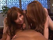 Yumi Kazama, enjoys a lovey interracial sex