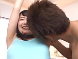 Hardcore gangbang scene involving hot Asian beauties picture 3