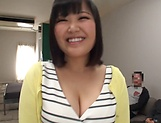Kawai Mayu, gets a messy cum on tits picture 1