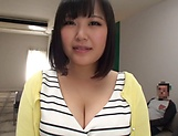 Kawai Mayu, gets a messy cum on tits picture 4