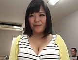 Kawai Mayu, gets a messy cum on tits picture 6