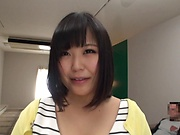 Kawai Mayu, devoured with a raunchy tit licking
