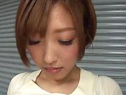 Mizuno Asahi naughty Asian milf delights in solo sex