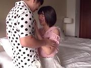 Tokyo babe enjoys giving a sloppy headfuck