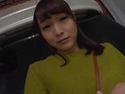 Horny Asian babe Ayane Suzukawa in kinky outdoor fun
