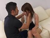 Alluring babe Kanon Nozaki enjoys kinky fisting picture 11