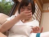 Airi Suzumura in raunchy hardcore toy scene indoors picture 15