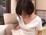 Airi Suzumura in raunchy hardcore toy scene indoors