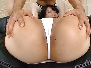 Ishigami Satomi gives a good head for jizz