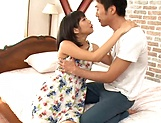 Raunchy seductress Riku Minato engages in a lustful sex