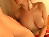 Ayumi Shinoda enjoys making a dude cum picture 14