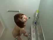 Busty Yuu Shinoda loves to get freaky in the shower