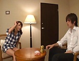 Big tits babe Ayami Shunka gets her gaping cunt drilled picture 6