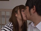 Alluring Asian hottie in kinky blowjob scene indoors picture 4