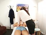 Amateur Japanese masseur milf enjoys hot fucking