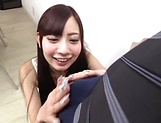 Cute Asian lady moans as she is nailed hard
