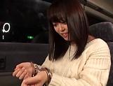 Sexy Japanese AV Model hard fucked in bondage style  picture 14