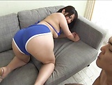 Wakaba Onoue gets her butt crack shagged