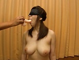 Busty milf plays with cock in naughty manners picture 14