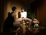 Mizuna Wakatsuki fucked with toys and made to swallow picture 8