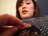 Alluring Asian milf shows her prowess in handling cocks picture 11