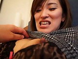 Alluring Asian milf shows her prowess in handling cocks picture 12