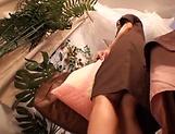 Cutie enjoys a kinky massage before a bonk