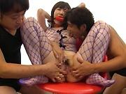 Mizuna Wakatsuki, premium Asian hardcore threesome