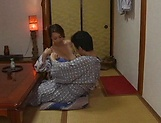 Very hot Japanese babe enjoys a worthy shag picture 4