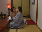 Very hot Japanese babe enjoys a worthy shag picture 7