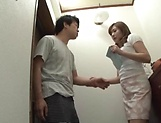 Saitou Miyu knows how to pleasure huge hard poles