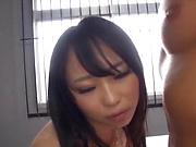 Busty Yoshinaga Akane wants cock inside her wet muff