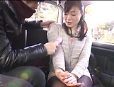 Alluring Asian mature in raunchy toy session outdoors picture 12