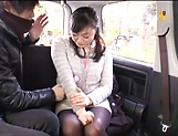 Alluring Asian mature in raunchy toy session outdoors picture 15