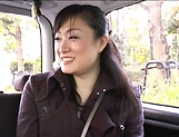 Alluring Asian mature in raunchy toy session outdoors