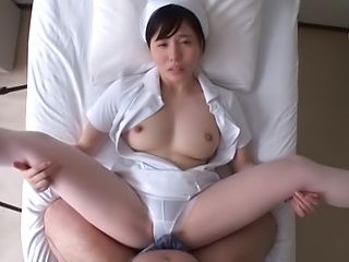 Sexy nurse Egami Shiho getting rammed well