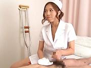 Saijou Ruri gets naughty on a dick