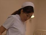 Sex starved nurse enjoys some kinky ward sex