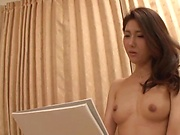 Delightful threesome fun for sweet Asian divas