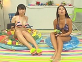 Threesome with Mei Matsumoto and Yuuai Kamiki