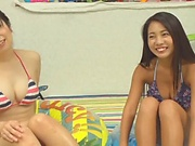 Mei Matsumoto and Yuuai Kamiki enjoys a wild fuck