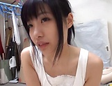 Pretty Japanese college chick in kinky wild sex picture 11
