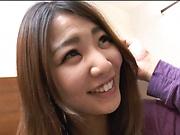 Kinky toy session involving hot Asian beauty