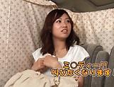 Naughty amateur Asian Hoshino Hibiki gives blowjob