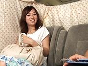 Sweet Japanese Hoshino Hibiki enjoys kinky toying