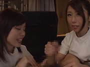 Horny Asian bimbo gets her twat screwed properly
